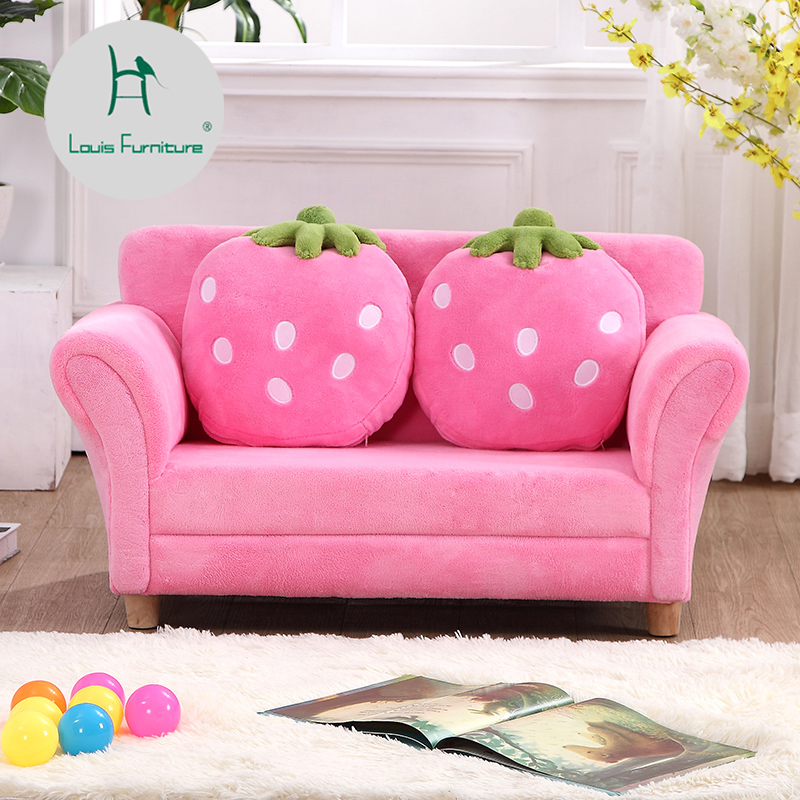 Sofas Mini Korean Cartoon Strawberry