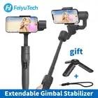Feiyu vimble 2 Smartphone 3 Axis Handheld Gimbal Stabilizer bluetooth wireless selfie stick for iPhone X Gopro sjcam Smooth Q
