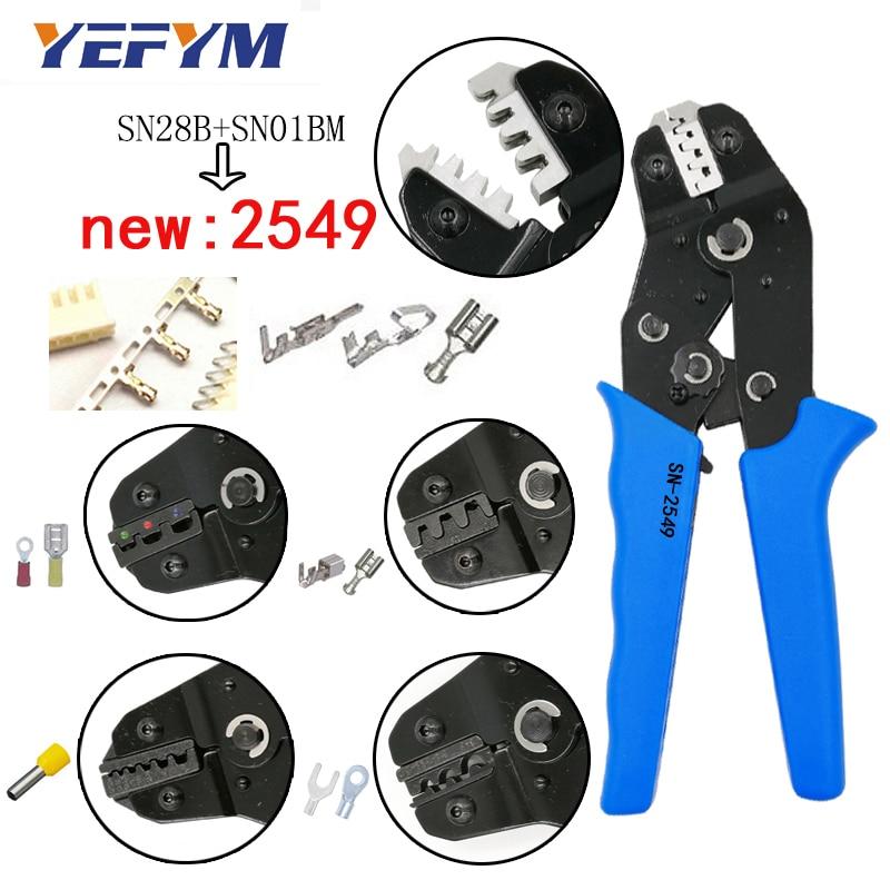 Werkzeuge Sn-2549 Crimpen Zangen 0,08-1mm2 20-10awg Xh2.54/ph2.0/2510 Sm Stecker Tab Terminals Sn-48b/02c/ 06wf/06 Für Rohr Isolierung Werkzeuge Ausreichende Versorgung