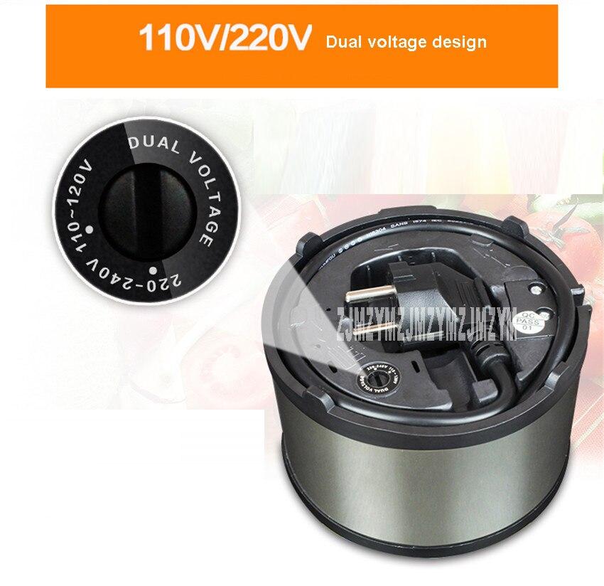 TC-350A 110 В/220 В двойное напряжение портативный поездки горшок из нержавеющей стали 1-2 человек электрический чашки электрический Плита мини Мультиварки