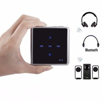 Portable 2 In 1 Wireless Bluetooth Audio Transmitter Receiver Touch Key Design Bluetooth Transceiver For Phone