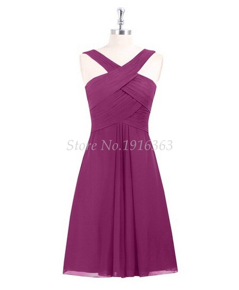 ANTI violet robes De demoiselle d'honneur Vestido De Festa De Casamento croisé mousseline De soie longue robe De soirée robes formelles expédition rapide