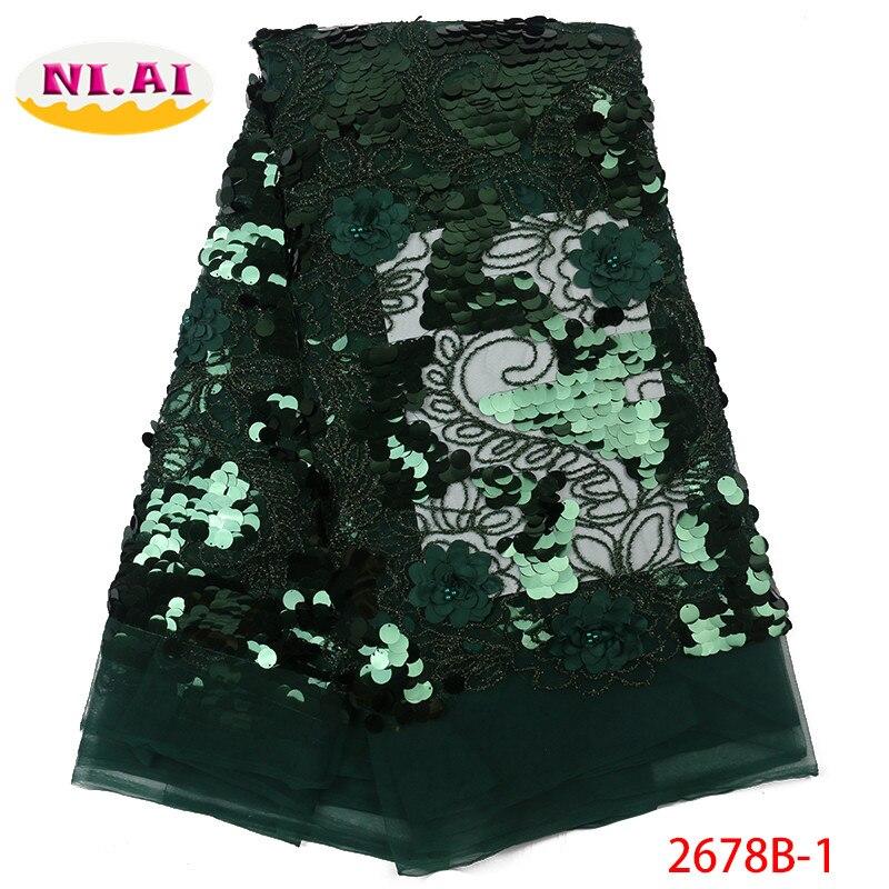 Afryki koronki tkaniny na sprzedaż, nowy haftowany tiul koronka sukienka z tkaniny, 3D cekiny różowy koronki dla pani Mr2678b w Koronka od Dom i ogród na  Grupa 1