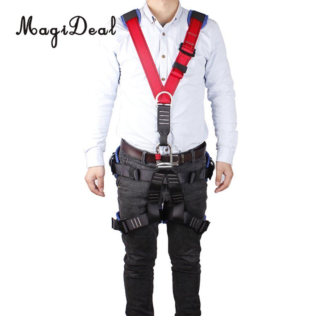 Shoulder Strap Rock Climbing Fall Protection Half Body Safety Harness Belt