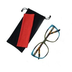 Image 2 - OCCI CHIARI 2018 חדש אופנה איטליה עיצוב אצטט נשים משקפיים אופטי משקפיים גדולים אופנה מסגרות משקפי W CERINI