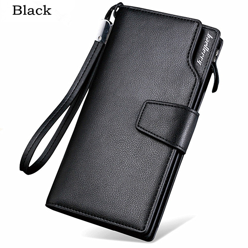 Vintage Style TPU Leather Wallet Credit Card Holder Genuine Men Baellerry Purse