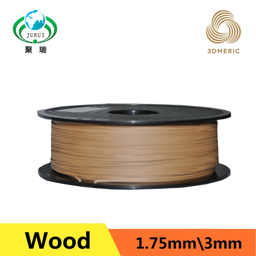 Professional Light color Wood 3d printer filament 1 75mm 1