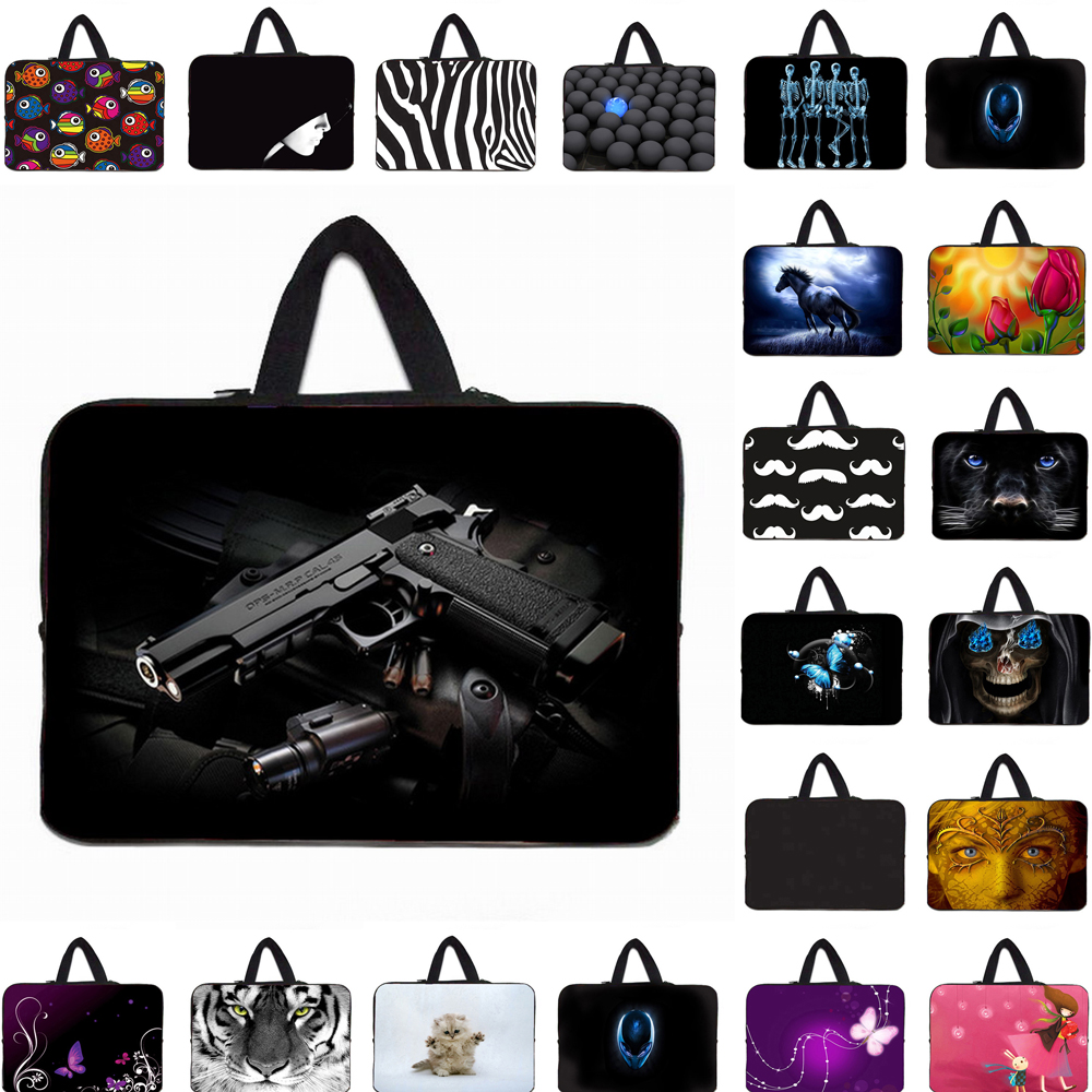 Computer Accessories Neoprene Handle 13/14/15/17/16/15.4/13.3/12.9inch Notebook Laptop Carry Bag Case <font><b>Funda</b></font> <font><b>Portatil</b></font> <font><b>15.6</b></font> Bolsas image