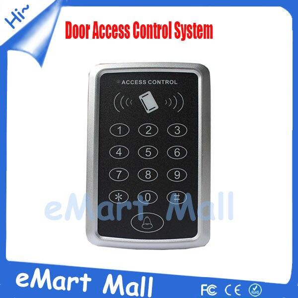 Security RFID Proximity Entry Door Lock Access Control System 1000 User Keypad Card Access Control Door