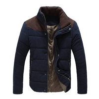 Áo Khoác mới Nam Giới 2018 Nóng Bán Dày Chất Lượng Cao Mùa Thu mùa đông Ấm Áp Outwear Hiệu Coat Casual Rắn Nam Áo Jacket Chắn Gió M-3XL