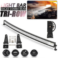 702W LED Light Bar 52 inch Combo 12V 24V Off Road Led Bar For SUV 4X4 Lada Uaz for Jeep Auto Driving Light