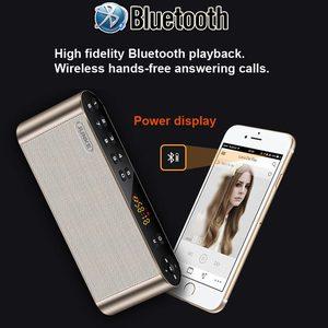 Image 4 - Портативная беспроводная стереоколонка JUNKE, Hi Fi, Bluetooth, супер бас, двойная звуковая панель с микрофоном, TF, USB, FM радио, USB, звуковая коробка