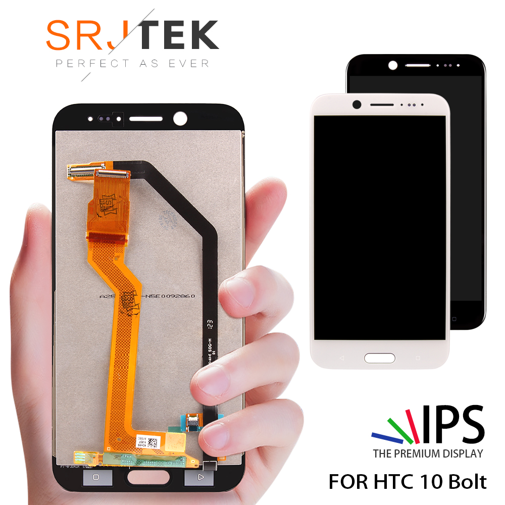 For HTC 10 EVO Bolt LCD Display + Touch Digitizer Screen glass For HTC 10 EVO/Bolt 5.5inch 2560*1440