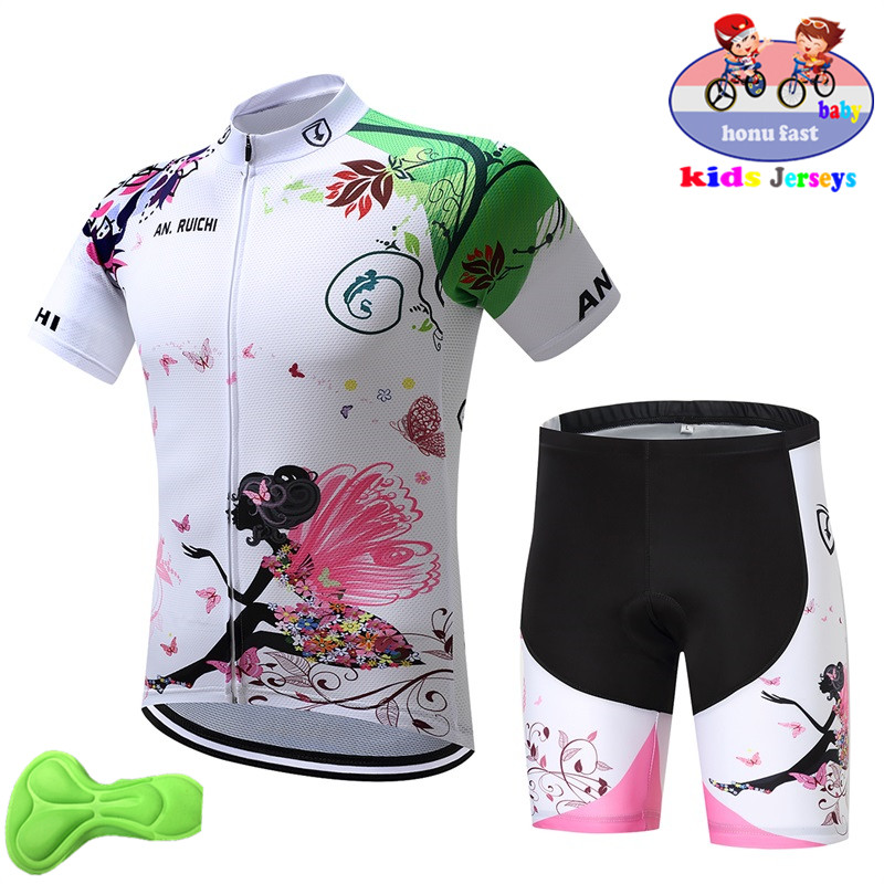 2019 new Girl Cycling Set Child Bike Clothing Boys Cycling Jersey Set Breathable Quick Dry Lovely Kids Cycling Clothing Suit2019 new Girl Cycling Set Child Bike Clothing Boys Cycling Jersey Set Breathable Quick Dry Lovely Kids Cycling Clothing Suit