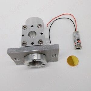 Лазерный комбинированный диодный лазер 10, 6 нм CO2, 20 мм, красная точка, указатель, луч, комбинированное крепление, набор для лазерной маркиров...