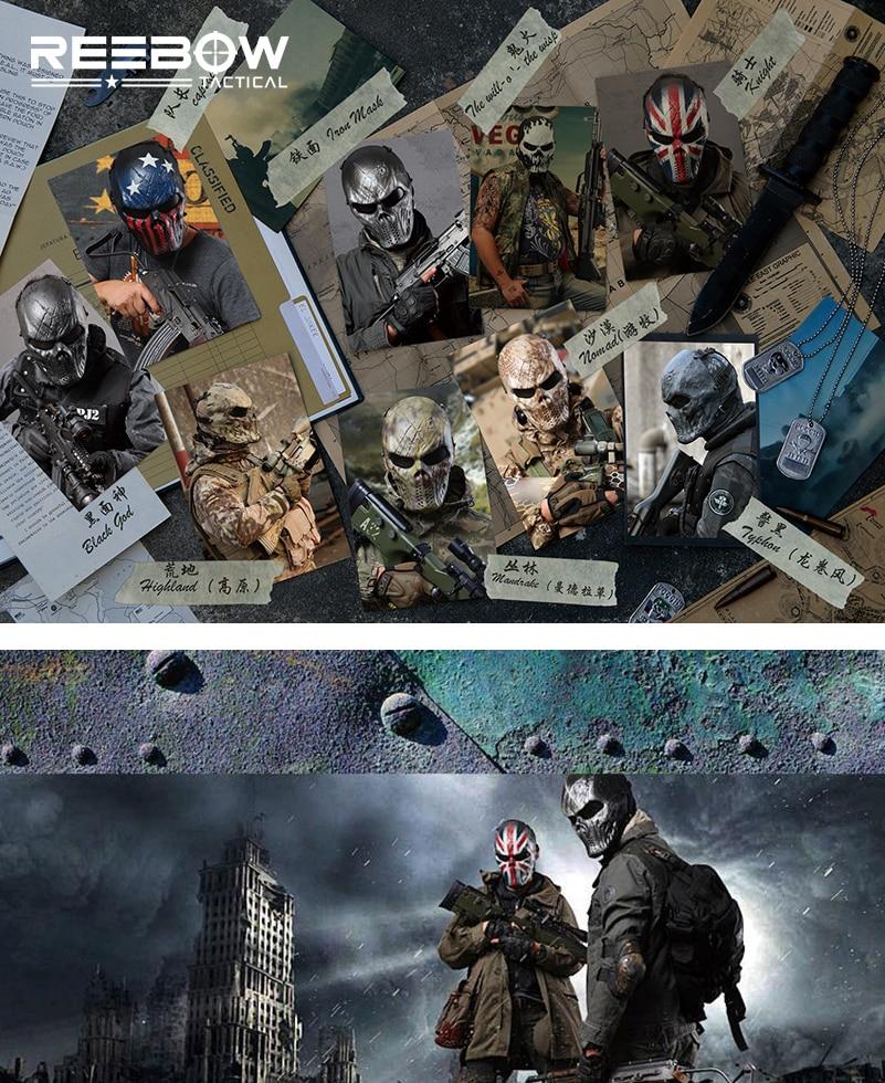 Typhon Camouflage Tactique Masques En Plein Air Militaire Wargame - Sportswear et accessoires - Photo 5