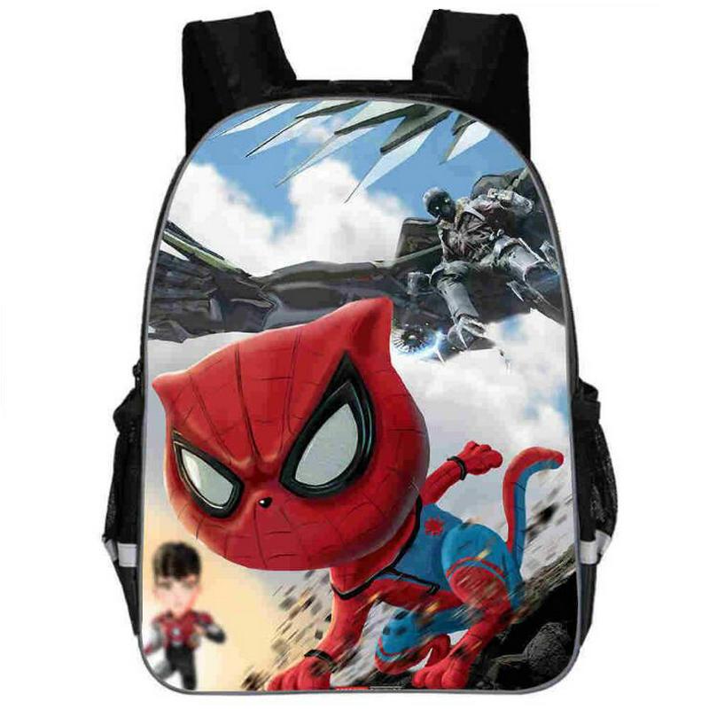 Comics Hero Spiderman Backpack Children Super Hero Spider Man School Backpacks Boys Cartoon Kids Students School Bags Buy At The Price Of 11 11 In Aliexpress Com Imall Com