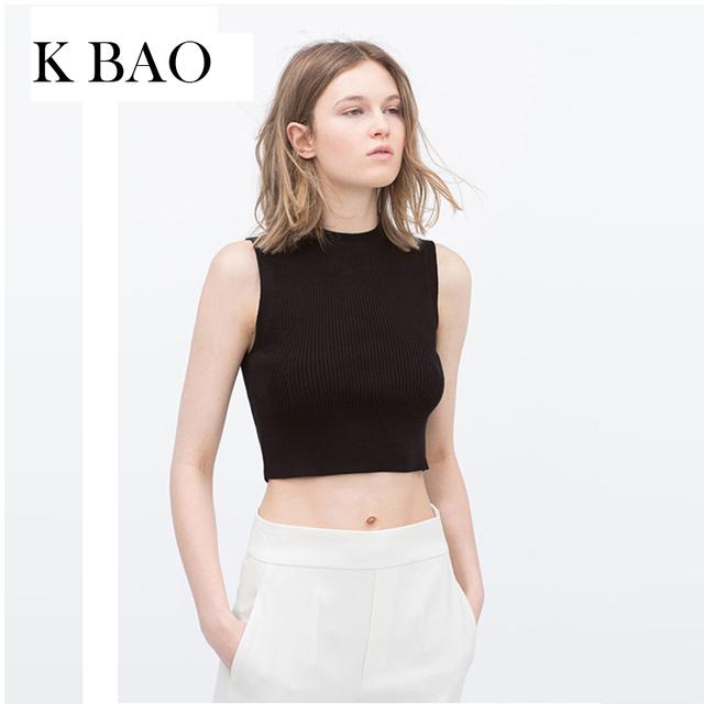 Novas Mulheres Da Moda Tops Preto e Branco O Pescoço fora do ombro de Algodão Regatas Curto Estilo Casual Top Feminino Básico