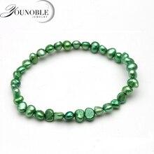 Beautiful natural freshwater pearl bracelet,adjustable bohemia bracelet  strands girl fashion birthday gift