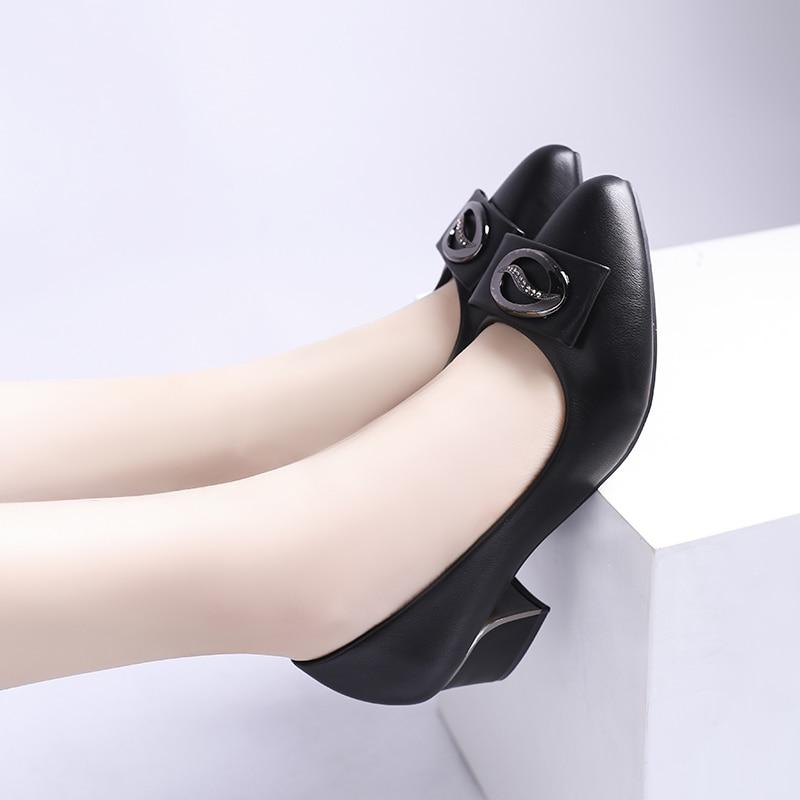 Las Puntiagudo Tacón Imitación Superficial Cuadrado negro Slip Beige Zapatos Pu Cuero Alto Elegante Pie Del Mujeres De Dedo 2019 Diamantes La En PY5Cqnx