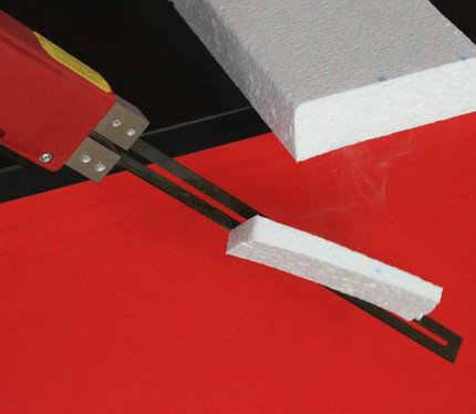 Electric knife EPS foam hot cutting knife cutting foam resistance wire hot  melt foam cutting electric cutting knife