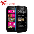 Original refurbished nokia lumia 710 wifi gps 5mp 3.7 ''pantalla táctil 8 gb de almacenamiento interno abrió el teléfono móvil del envío gratis