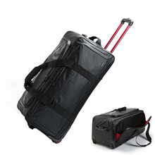 New Fashion Large Business Oxford Cloth Travel Duffle Trolley 30 inch Rolling Luggage Men High-capacity Handle Bag Suitcase