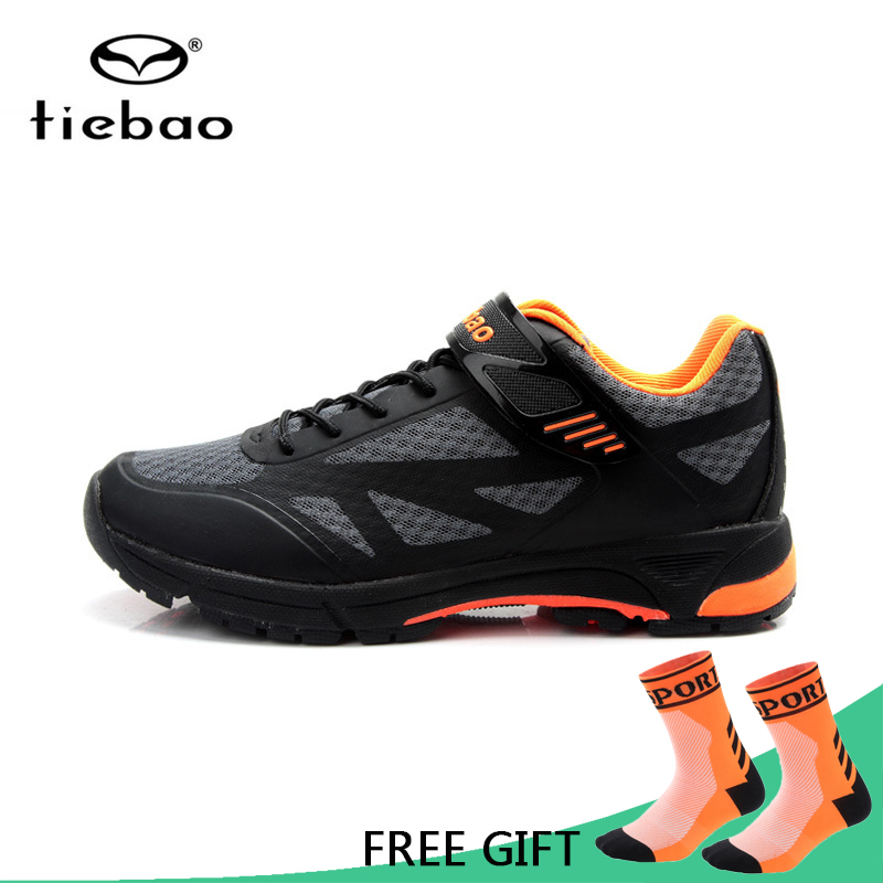 Tiebao Cycling Shoes Bicycle Professional Athletic Shoes Self-Locking Shoes Men MTB Bike Shoes zapatillas de ciclismo tiebao professional men bicycle shoes athletic racing mtb cycling bike mountain self locking shoes zapatillas ciclismo