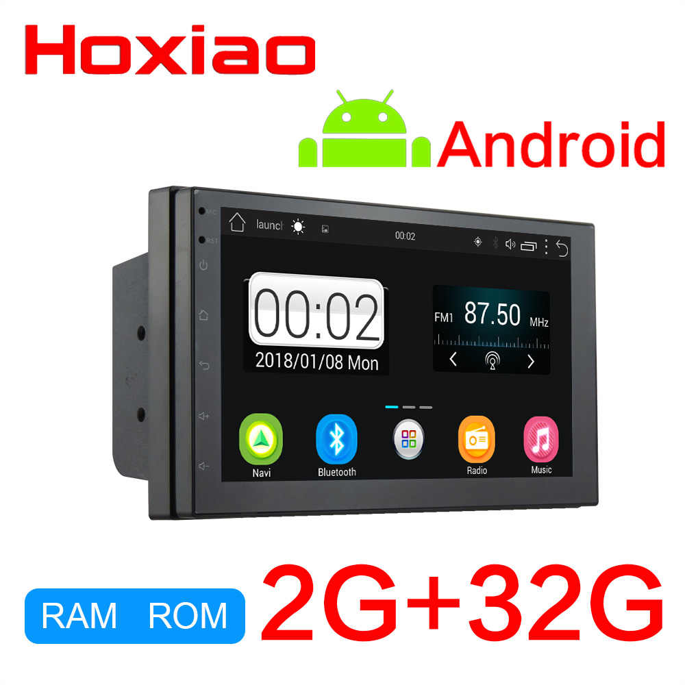 Radio reproductor de cassette 2din android automagnitol RAM 2G + ROM 32G GPS navegación wifi NO dvd BT DAB FM radio de coche 2 din