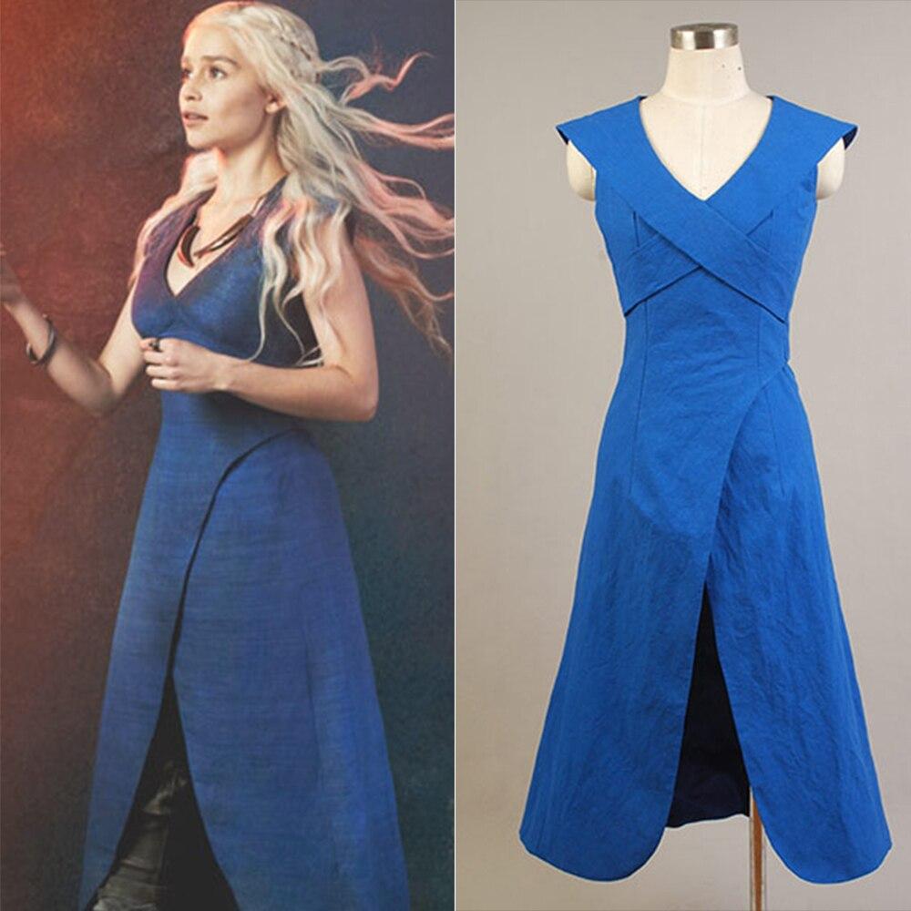 Uma canção de gelo e fogo jogo de tronos daenerys targaryen cosplay traje conjunto vestido ou capa daenerys targaryen traje feminino
