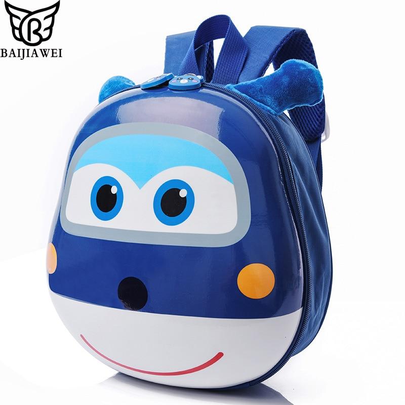 66aaa43b7510 Detail Feedback Questions about BAIJIAWEI Cartoon Eggshell Travel Bag Cute  Baby Backpack Girls Boys Kindergarten Schoolbag 1 5 Years Old Kids Shoulder  Bag ...