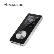 "Discount! HIPERDEAL 1.8"" TFT Black 4G MP3 HiFi Lossless Sound Music Player FM Recorder TF Card Slim Music Media Slick Stylish Design Sep5"