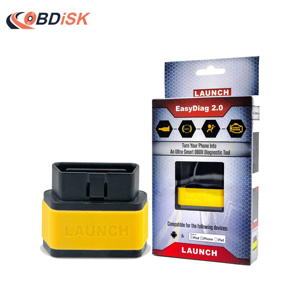 Цена за В наличии! Оригинальный Старт X431 EasyDiag 2.0 OBD2 товара сканер легкий диагональ инструмент диагностики Bluetooth Easydiag2.0 код читателя