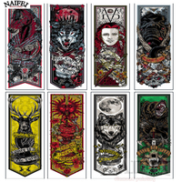 5D DIY Diamond Painting Animals Full Square Rhinestones Cross Stitch Mosaic Embroidery Home Decoration Game Of