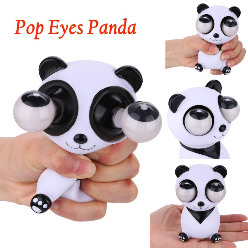 squeeze Novelties kids toys Pop Out Stress Reliever Lovely Panda Squeeze Vent Gift toys MAY8