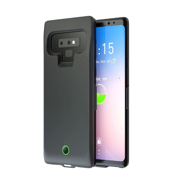 detailed look 5aaf3 48523 US $19.89 49% OFF|7000mAh New Note 9 Battery Case For Samsung Note 9  Battery Charger Case Power Bank Pack External Charger Cover Good Backup-in  ...