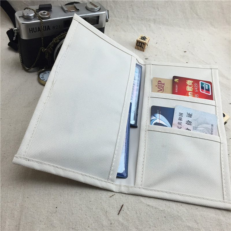 New Traveler 's Notebook Travelers Diary Notepad Notebook Planner Oxford Fabric Storage Bag Receipt Holder Accessories Washable