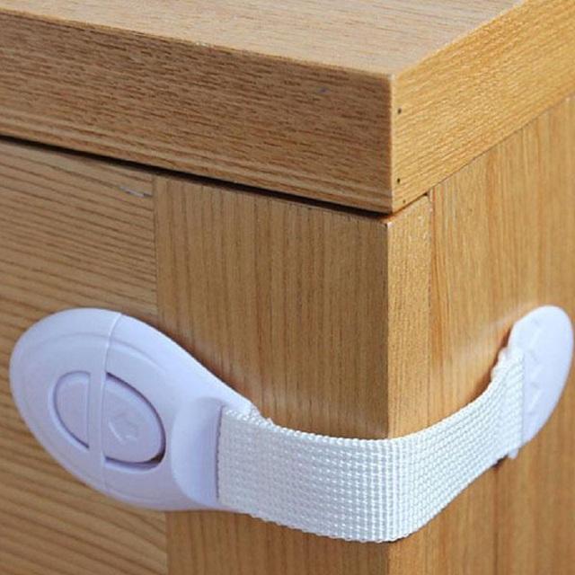 1Pcs Baby Safety Lock Drawer Door Cabinet Cupboard Toilet Safety Locks