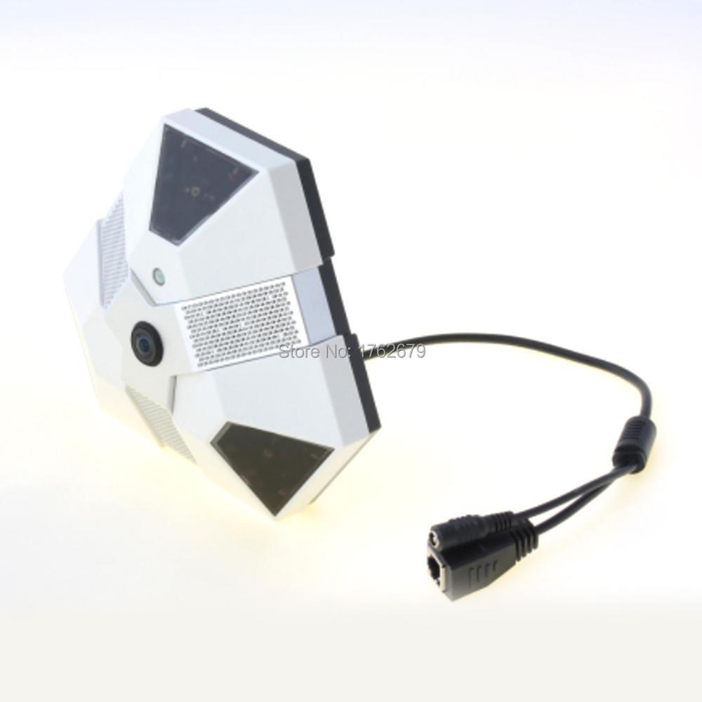 5 0MP 2592x1944 8fps 360 degree fisheye panorama ip camera cms software with digital zoom digital