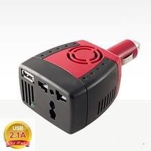 BRIDNA 150 w Encendedor de Cigarrillos convertidor de cargador de coche dc 12 v a ac 110 v 60 hz 220 v 50 hz car power inverter con puerto USB