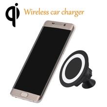 Qi Sans Fil Chargeur De Voiture Support De Téléphone Collant Montage Sans Fil De Charge Pad pour iPhone 6 6 s Plus Samsung S7/S6 Lumia 950 universel