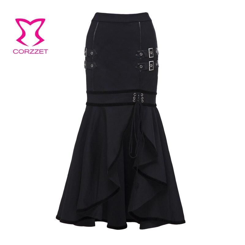 ba71ace5e Corzzet Retro marrón satinado Reffle 4 capas falda Burlesque disfraz ...