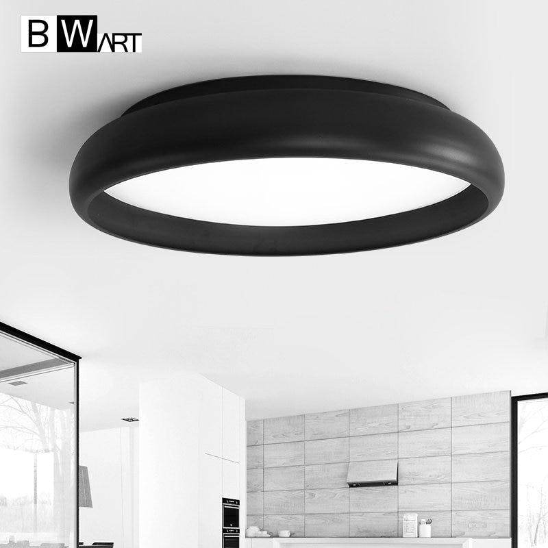 BWART Modern LED Ceiling light Creative round modern led ceiling lamp fixture for bed room studio lighting
