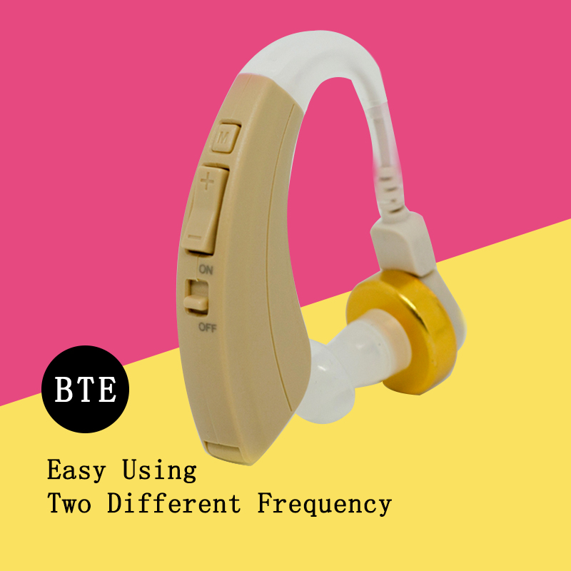 VOHOM221 Digital Hearing Aid New Best Hearing Aids Behind The Ear Sound Amplifier Adjustable Hearing Aid China Electronic Shop