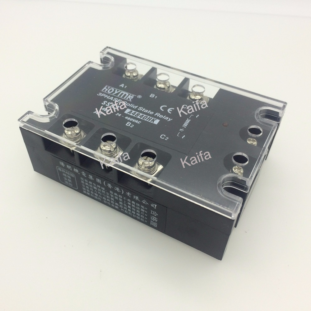 цена на wholesale genuine Solid State Relay SSR3-A4840HK 40A 24-480VAC