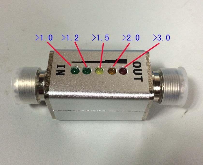 1 mhz-30 mhz 40 w VSWR indicatore LED Connettore MINI SWR display onde Corte in piedi Ham Radio frequenza1 mhz-30 mhz 40 w VSWR indicatore LED Connettore MINI SWR display onde Corte in piedi Ham Radio frequenza