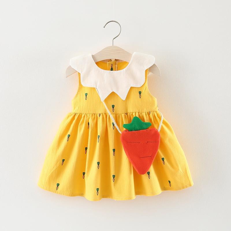 2018 letnie dziewczynek sukienka kwiatowy niemowlęcy sukienka - Odzież dla niemowląt - Zdjęcie 1