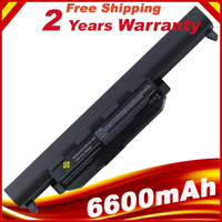 9 Cells 6600mAh X55a Laptop Battery For ASUS A32 K55 A33 K55 A75DE TY026V A75DE TY043V A75VM TY085V K75A K75D K75V K75VM TY126V