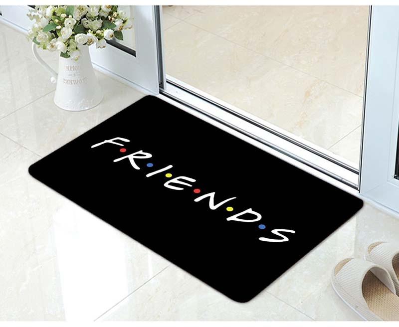 Funny Friends TV Mug Friends Central Perk Logo Door mat Ceramic Friends TV Discoloration Carpet Creative