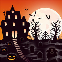 YaMinSanNiO Halloween Transparent Clear Stamps for DIY Scrapbooking Card Making Ghost House Supplies New Stamp